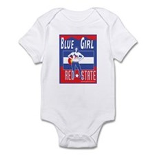 Colorado Blue Girl Infant Bodysuit