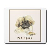 Pekingese by Shawna Pauley Mousepad