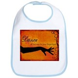 Tribal Bellydance orange Bib