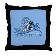 Chincoteague Pony Throw Pillow