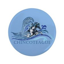 "Chincoteague Pony 3.5"" Button"