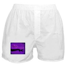 Tribal Bellydance purple Boxer Shorts