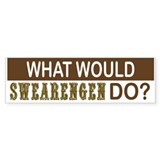 What Would Swearengen Do? Bumper Bumper Sticker