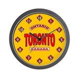 Toronto Ontario Wall Clock