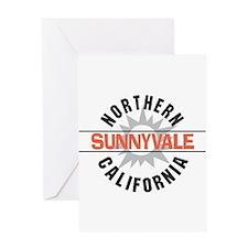 Sunnyvale California Greeting Card