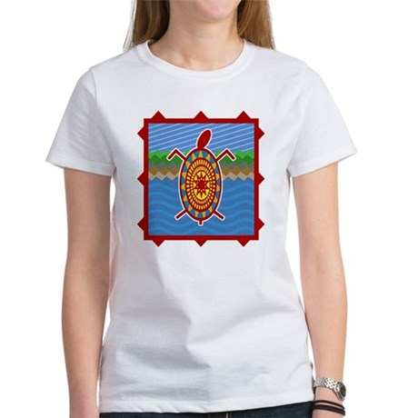 Southwestern Sea Turtle Scene Women's T-Shirt