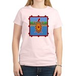 Southwestern Sea Turtle Scene Women's Light T-Shir