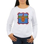 Southwestern Sea Turtle Scene Women's Long Sleeve