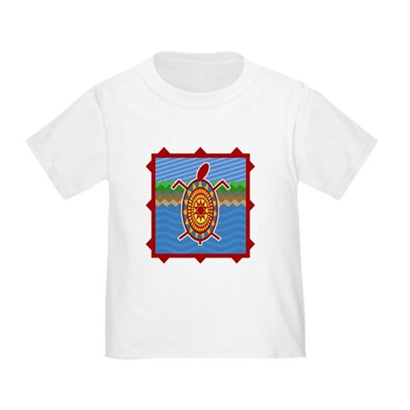 Southwestern Sea Turtle Scene Toddler T-Shi