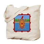 Southwestern Sea Turtle Scene Tote Bag