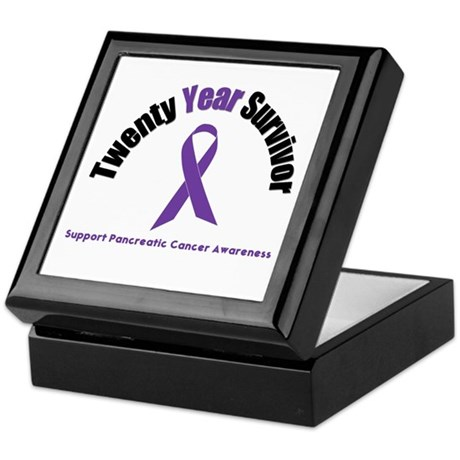 Pancreatic Cancer Keepsake Box