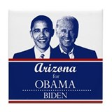 Arizona for Obama Tile Coaster