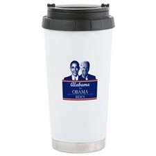 Alabama for Obama Travel Mug