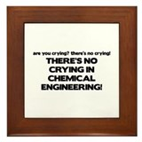 There's No Crying in Chemical Engineering Framed T