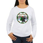 XmasMusic1MC/Scottie Women's Long Sleeve T-Shirt