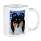Blue Sky Tri Sheltie Mug