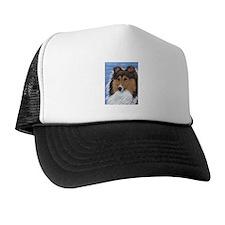 Blue Sky Sable Sheltie Trucker Hat