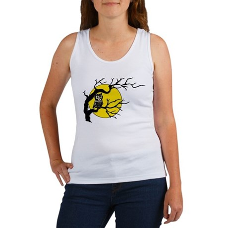 Harvest Moon Owl Women's Tank Top