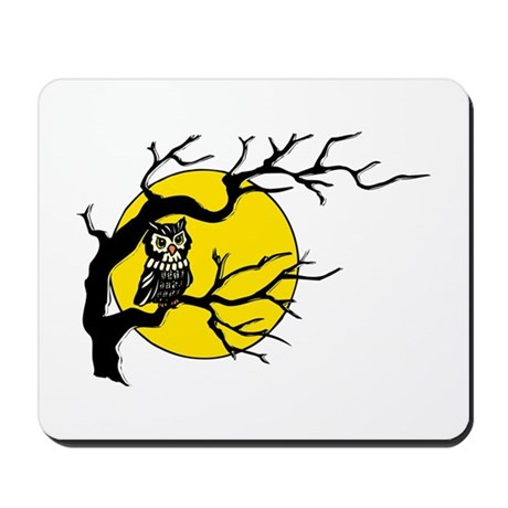 Harvest Moon Owl Mousepad