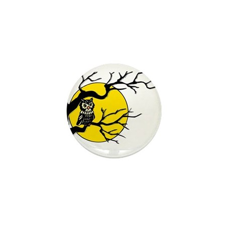 Harvest Moon Owl Mini Button (10 pack)