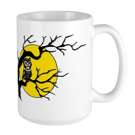Harvest Moon Owl Large Mug