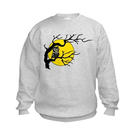 Harvest Moon Owl Kids Sweatshirt