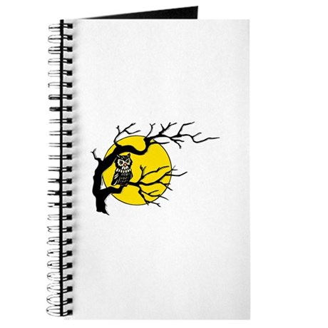 Harvest Moon Owl Journal