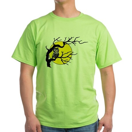 Harvest Moon Owl Green T-Shirt