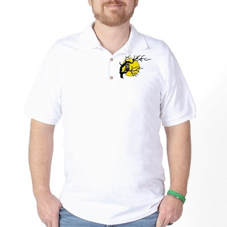 Harvest Moon Owl Golf Shirt