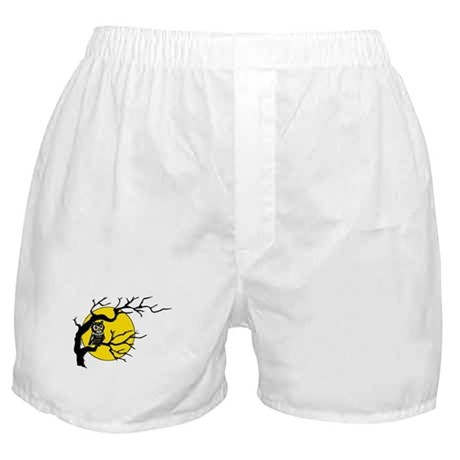 Harvest Moon Owl Boxer Shorts