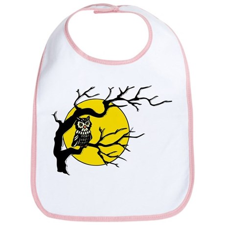 Harvest Moon Owl Bib