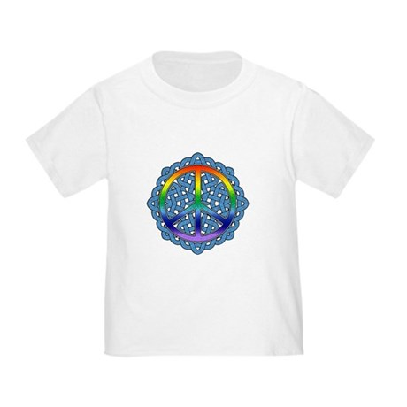 Celtic Knot Peace Symbol Toddler T-Shirt