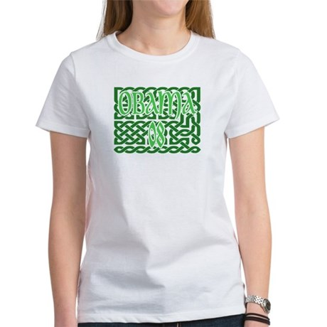Obama Celtic Knotwork Women's T-Shirt