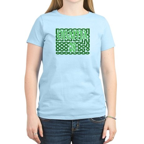 Obama Celtic Knotwork Women's Light T-Shirt