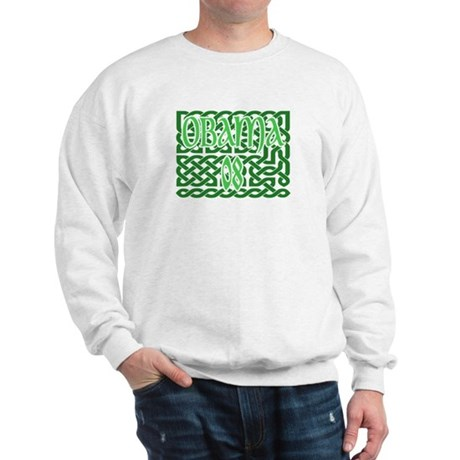 Obama Celtic Knotwork Sweatshirt