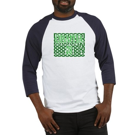 Obama Celtic Knotwork Baseball Jersey