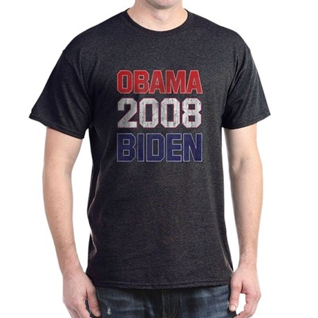 Obama-Biden (2008 vintage) Dark T-Shirt