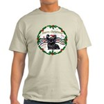 XmasMusic1MC/Skye Terrier Light T-Shirt