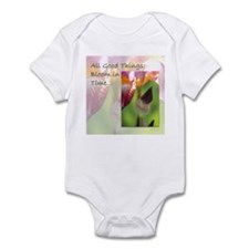 All Good Things Bloom in Time Infant Bodysuit