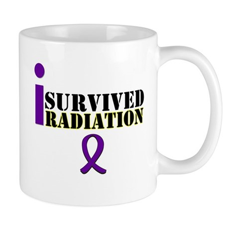 I Survived Radiation Mug