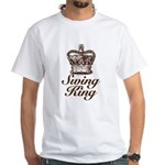 Swing King Swing Dancing White T-Shirt