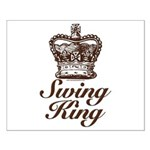 Swing King Swing Dancing Small Poster