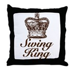 Swing King Swing Dancing Throw Pillow