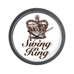 Swing King Swing Dancing Wall Clock