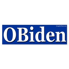 OBiden bumper sticker