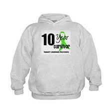 10YrLymphomaSurvivor Hoodie