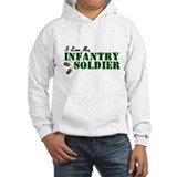 I Love My Infantry Soldier Jumper Hoody