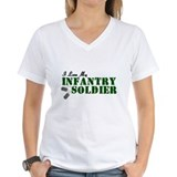 I Love My Infantry Soldier Shirt