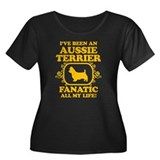 Australian Terrier Women's Plus Size Scoop Neck Da