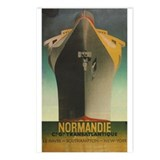 Normandie Postcards (Package of 8)
